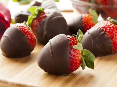 DIY Canna-Chocolate Covered Strawberries