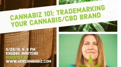 Cannabiz 101: Trademarking Your Cannabis/CBD Brand