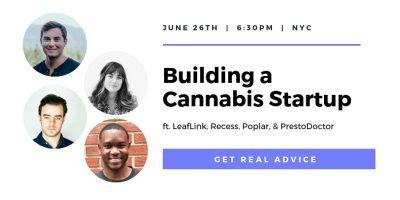 Building a Cannabis Startup