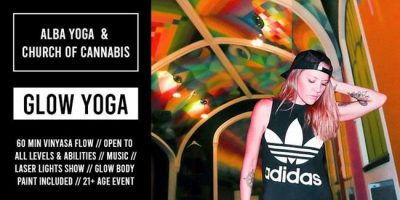 Glow Yoga with Alba Avella and Church of Cannabis