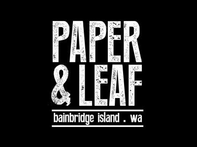 Paper and Leaf