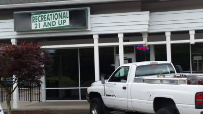 A Recreational Marijuana Store