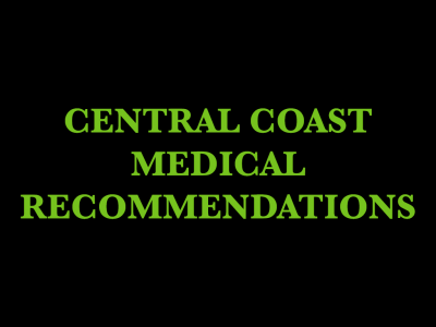 Central Coast Medical Recommendations