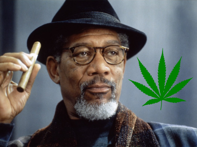 Morgan Freeman and Marijuana