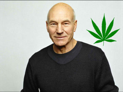 Marijuana Adovacte Sir Patrick Stewart