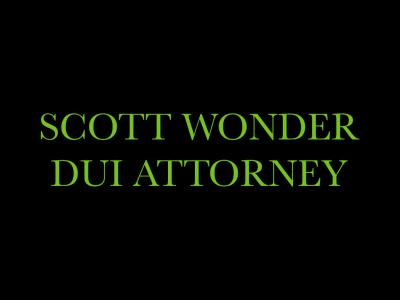 Scott Wonder