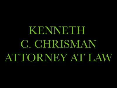 Kenneth C. Chrisman, Attorney at Law