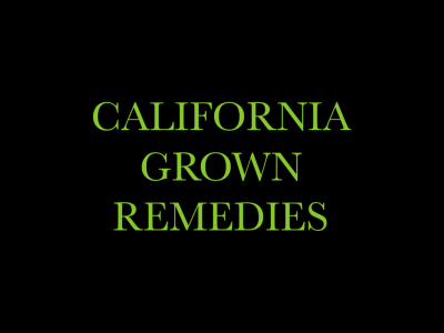 California Grown Remedies