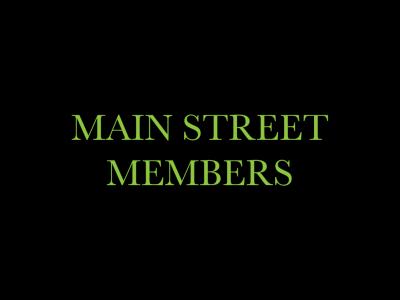 Main Street Members