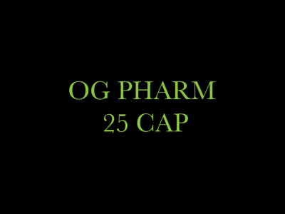 OG Pharm 25 CAP