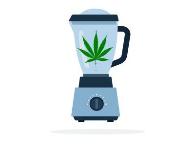 The Amazing Benefits of Juicing Raw Cannabis