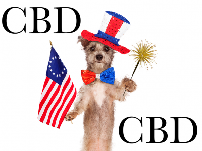 Dogs, Fireworks, and CBD