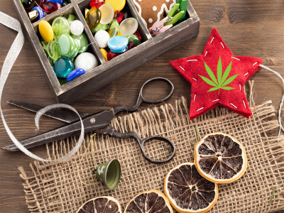 DIY: Cannabis-Inspired Crafting