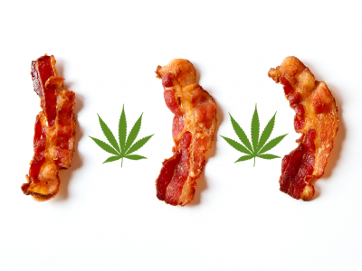 Cannabis-Infused Bacon
