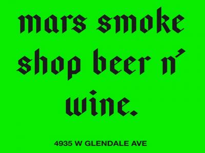 Mars Smoke Shop