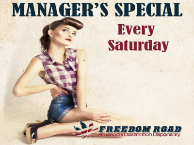 Manager's Special Every Saturday