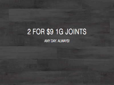 2 for $9 1g Joints