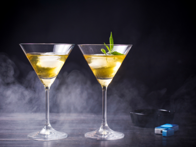 Cannabis-Infused Cocktails to Welcome the Season