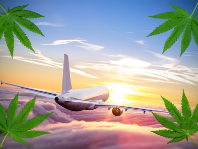 Cannabis Goes Sky High with New Airline Advertising
