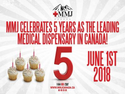 MMJ Canada celebrates 5th anniversary