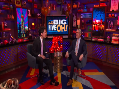 Andy Cohen And John Mayer Talk Weed