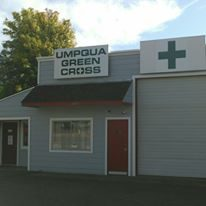 Umpqua Green Cross