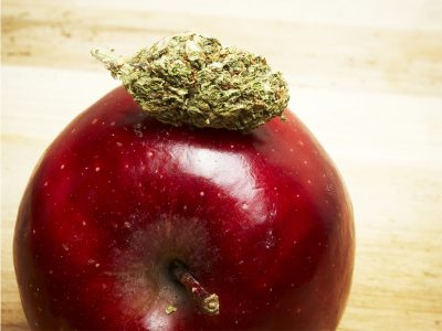 Smoking Weed With Fruit
